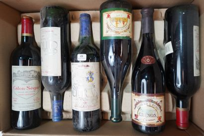 48- 12 bouteilles : 4 Boyd Cantenac 2000,...
