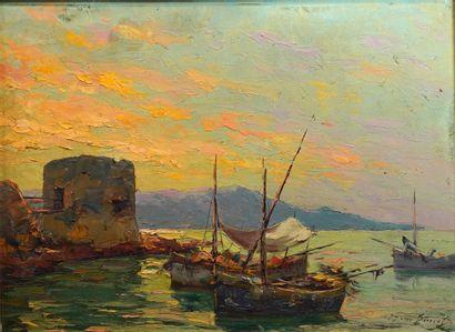 4- Pierre-Paul EMIOT ''Port de Saint-Tropez...