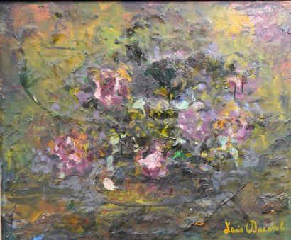 47- Louis DUCATEL ''Bouquet de fleurs'' Huile...