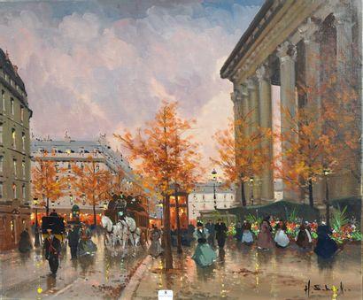 8- Henri-Alexis SCHAEFFER ''La Madeleine''...