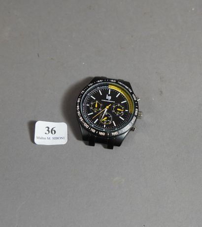 36- LIP Boîtier de montre chronographe (ne...