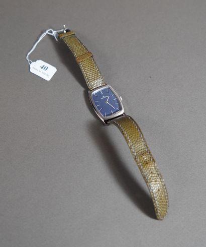 40- HELVETIA Montre bracelet en acier