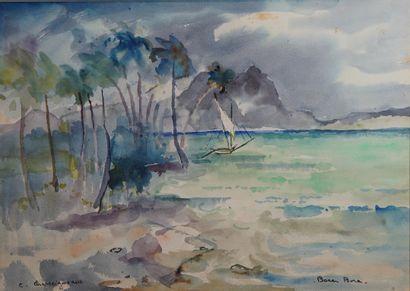 40- Colette CHASSEIGNEAUX  ''Bora Bora''...
