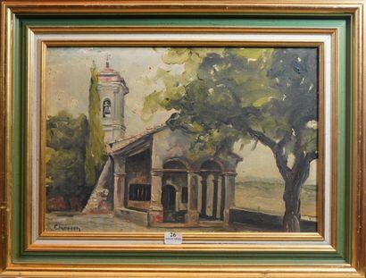 26- Philippe CHOSSON (1919-2011)  ''Notre-Dame...