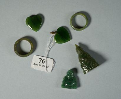 76- Deux coeurs, deux bouddhas et deux bagues...