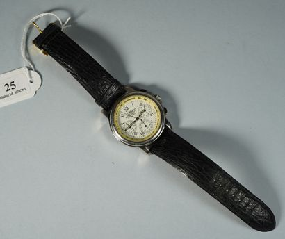 25- YONGER & BRESSON  Montre d'homme chronographe à quartz