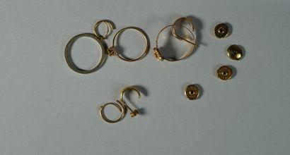131- Lot de débris d'or  Pds : 6,30 g