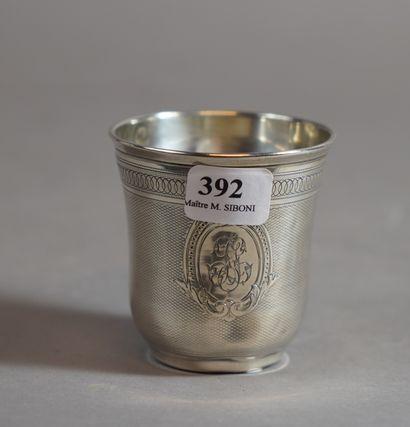 392- Timbale en argent  Pds : 36 g