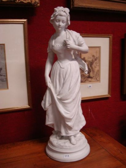 Biscuit Femme Manufacture de Sèvres, d'après...
