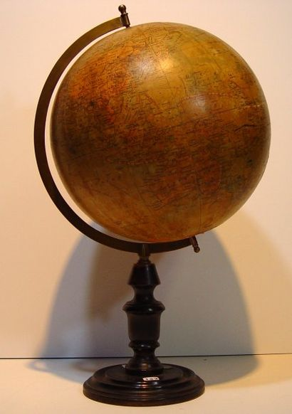 Globe terrestre. G. NIOX