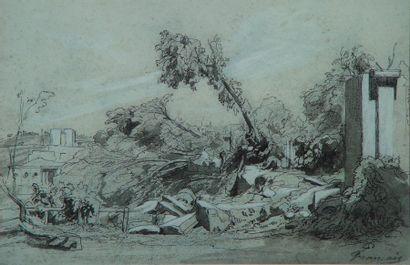 Louis-François FRANÇAIS (1814-1897)