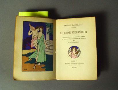 BAUDELAIRE (Charles) . Le jeune enchanteur. Ill. de L. COURBOULEIX. Paris , Glomeau,...
