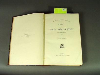 [Art nouveau] . Revue des arts décoratifs....
