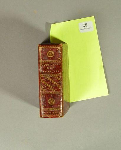 Code civil des Français . Edition originale...