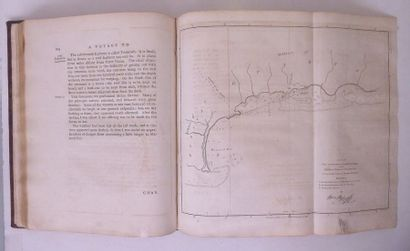 BLIGH (William) Voyage to the South Sea. Londres, Nicol, 1792. In-4, veau granité,...
