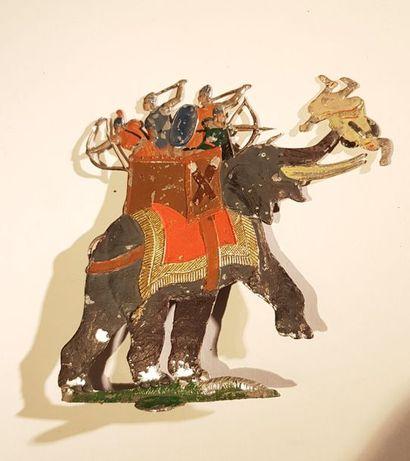 HEINRICHSEN. Antiquité. Eléphant Carthaginois. Grande taille. Bonne édition ancienne....