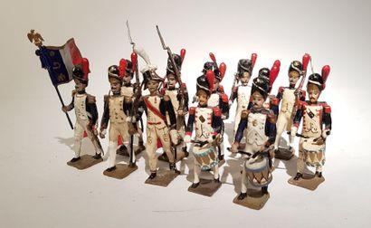 Ier Empire. France. Grenadiers de la Garde....