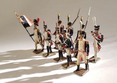 Ier Empire. France. Voltigeurs et Fusiliers....
