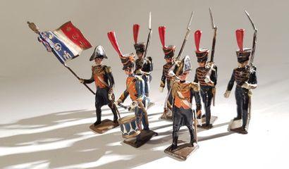 Ier Empire. France. Marins de la Garde. Ce...