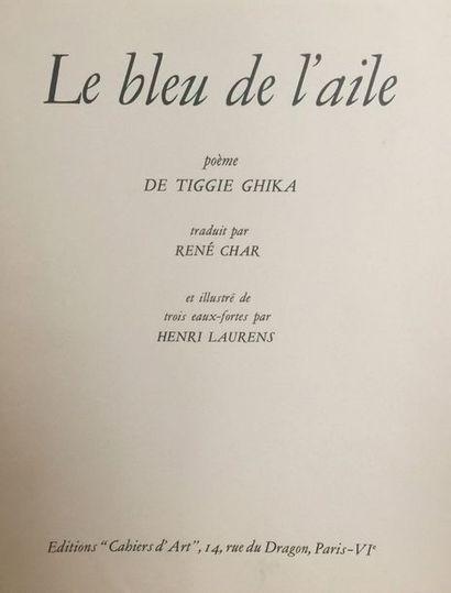 (LAURENS Henri) GHIKA TIGGIE de