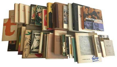 Ensemble de 36 livres dédicacés à Frank ELGAR...