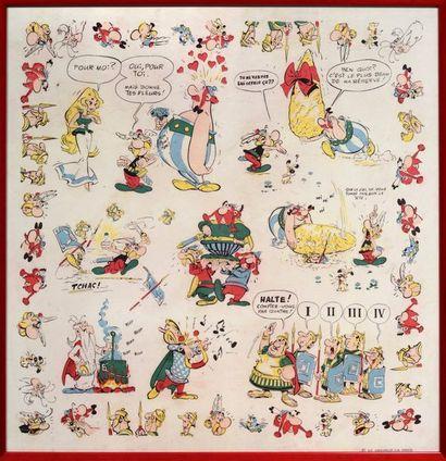 Astérix - Foulard ancien Grand foulard en...