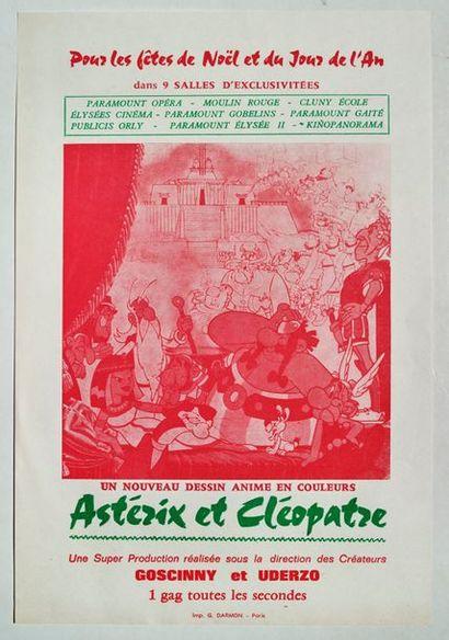 Astérix - Publicité Petit feuillet illustré...
