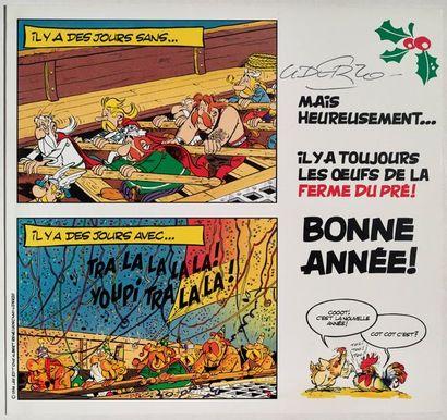 Astérix - Carte de Voeux 1995 Carte en 2...