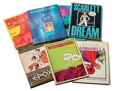 Barbarella + Divers - Ensemble de 7 albums...