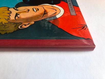 Alix - Le Sphinx d'or Edition particulière à dos carré rouge en toile. Intérieur...