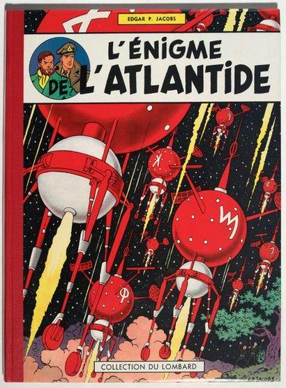 Blake et Mortimer - L'énigme de l'Atlantide...