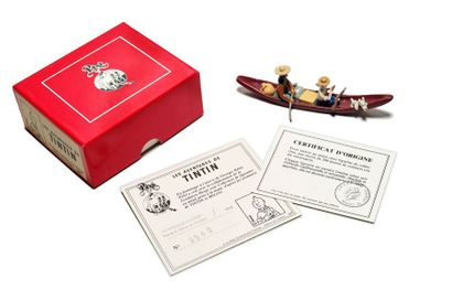 Tintin - Pixi 4412 Tintin et Milou en Pirogue,...