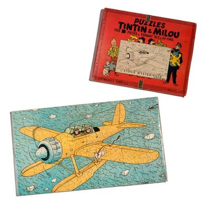 Tintin - Puzzle Dubreucq Magnifique jeu de...