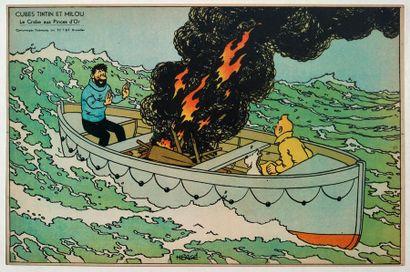 Tintin/Le crabe aux pinces d'or - Image Dubreucq...