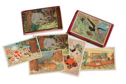 Tintin - Jeu de cubes Rare jeu offert avec...