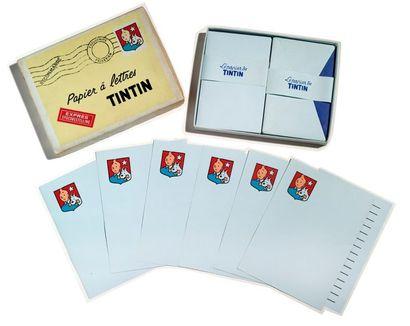 Tintin - Papier à lettre Très belle boîte...