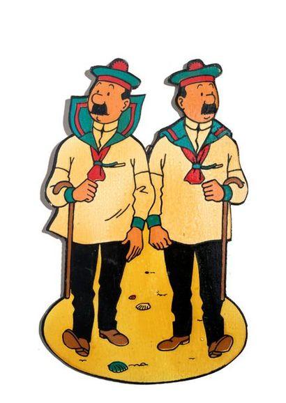 Tintin - Silhouette Ancienne décoration en...