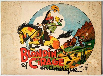 Blondin et Cirage en Amérique Edition Averbode...