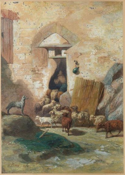 DORÉ Gustave (Graveur de). PISAN (Héliodore-Joseph)