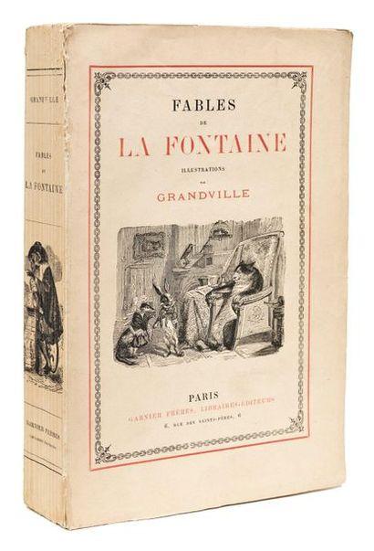 GRANDVILLE Jean-Ignace-Isidore. LA FONTAINE (Jean de)
