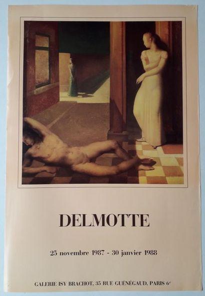 Delmotte, Galerie Isy Brachot, Paris, 1988,...