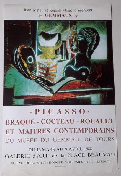 Les Géminaux de Picasso- Braque- Cocteau...