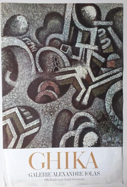 Ghika, Galerie Alexandre Iolas, Paris, sans...