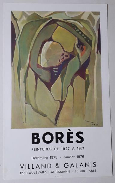 Borès peintures de 1927 à 1971, Galerie Villand...