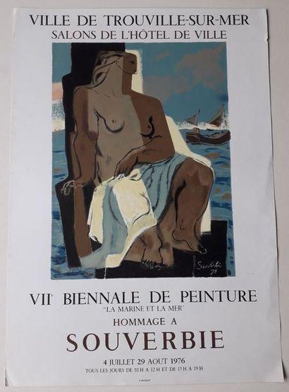 VII biennale de peinture: Hommage à Souverbie,...