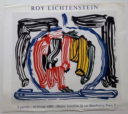 Roy Lichtenstein, Galerie Daniel Templon,...