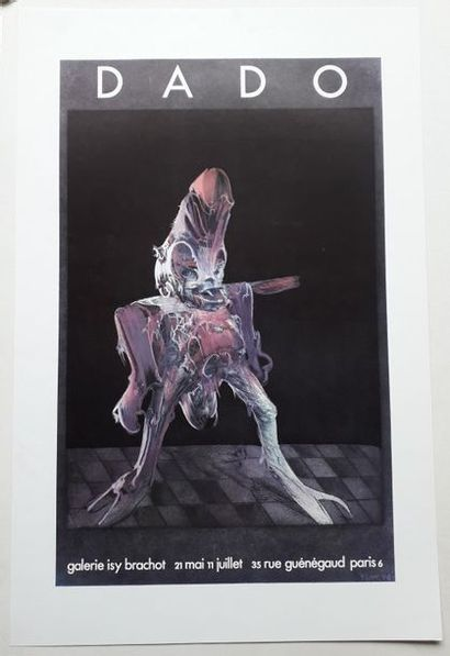Dado, Galerie Isy Brachot, Paris, sans date...