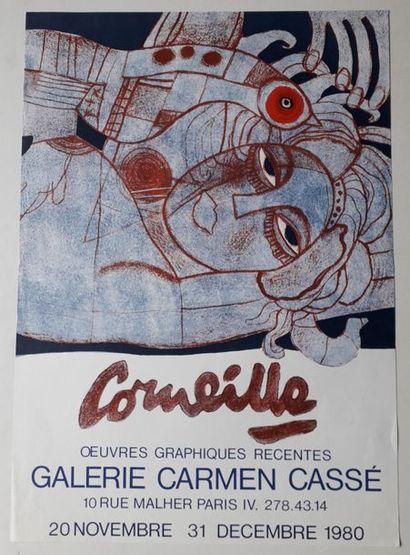 Corneille: Œuvre graphique récente, Galerie...