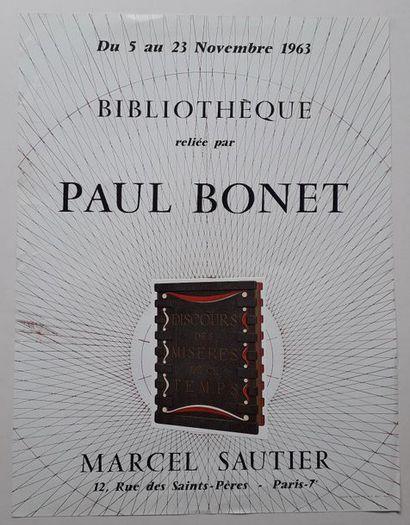 Bibliothèque relié par Paul Bonet, Galerie...