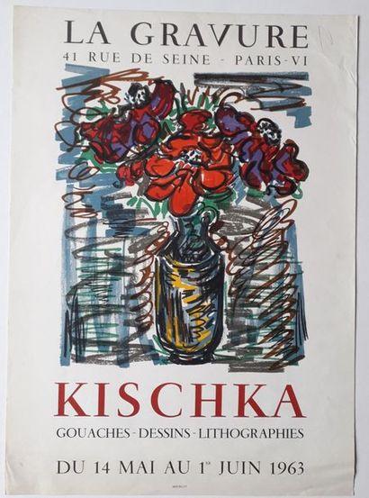 Kischka: gouaches dessins lithographies,...